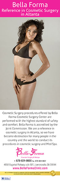 Bella Forma Cosmetic Surgery Center reference in cosmetic surgery in Atlanta